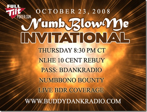 The NumbBlowMe Invitational