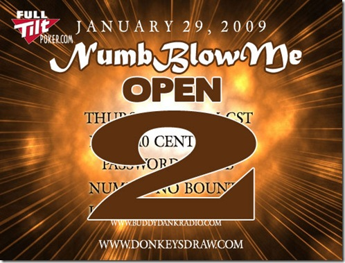 The NumbBlowMe Open