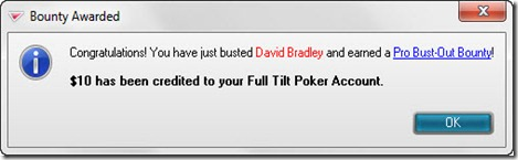 Busting David Bradley from a HORSE tourney